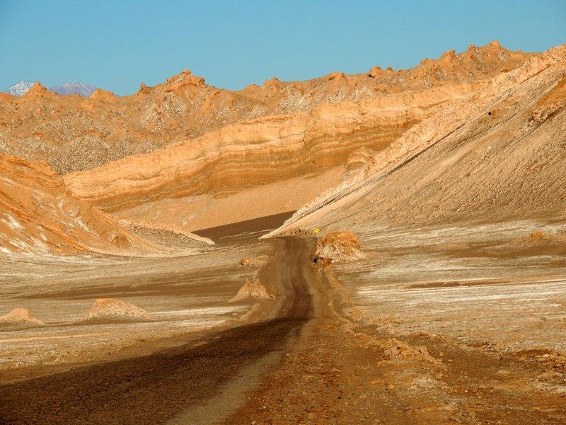 Viaggio in auto in Cile: la Valle della Luna.