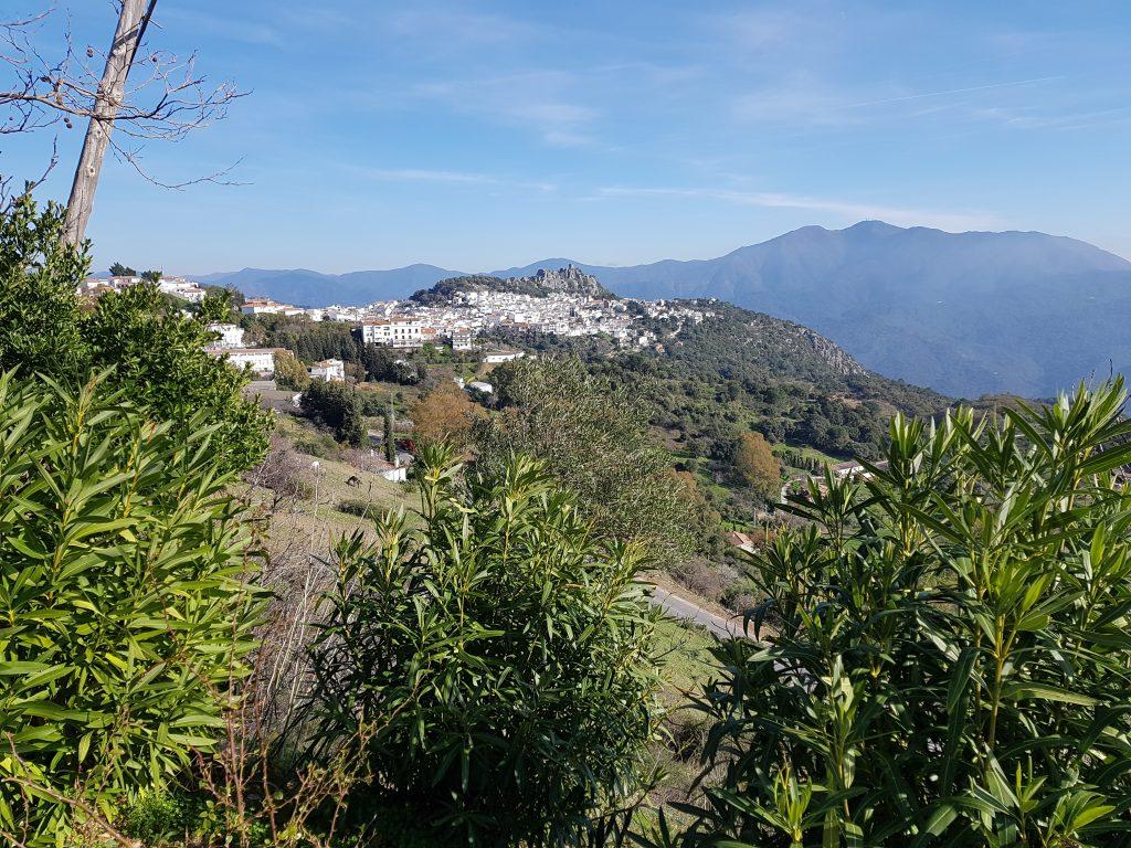 Castelli Moreschi in Andalusia: il paese di Gaucin.