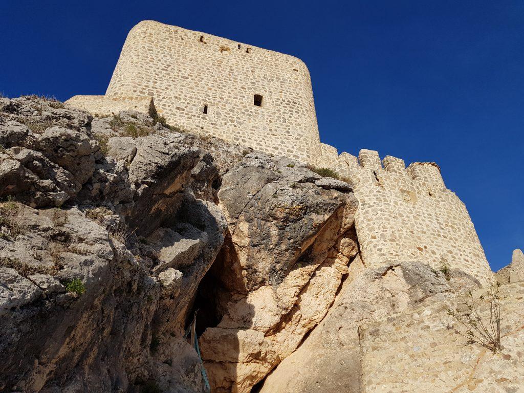 Castelli Moreschi in Andalusia: il castello di Olvera.