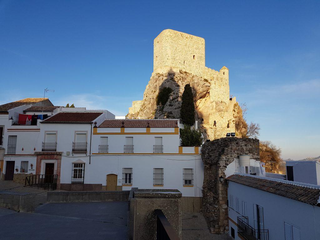 Castelli Moreschi in Andalusia: Olvera e il suo castello.