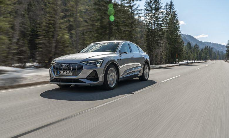 Photo of L'Audi completamente elettrica in versione coupé: e-tron Sportback