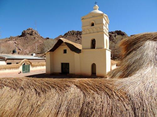 Viaggio in auto in Argentina: la chiesetta di Nuestra Señora de Belén a Susques.