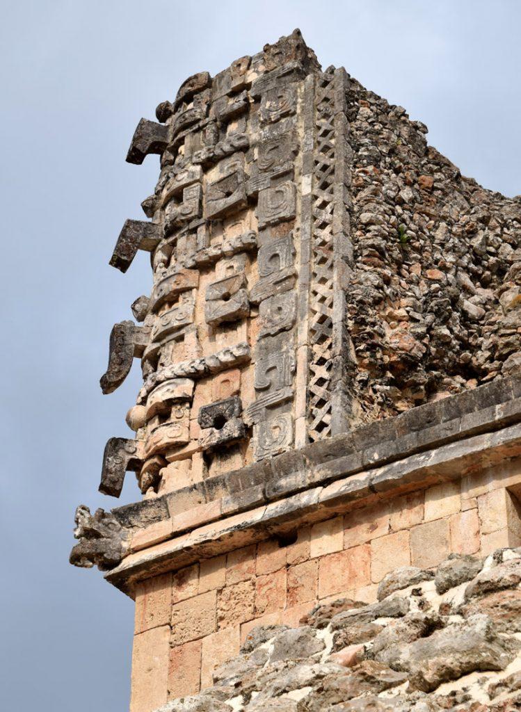 Un edificio a Uxmal