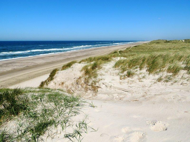 La spiaggia nei pressi di Nymindegab