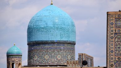 Photo of L'Uzbekistan in auto: tra alti minareti, moschee turchesi e mercati chiassosi