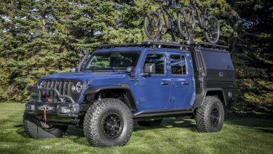 Photo of Jeep Gladiator Top Dog Concept: tutto il meglio per gli appassionati di mountain bike