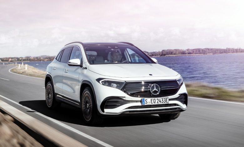 Photo of L'auto completamente elettrica di Mercedes inizia dalla A: il nuovo EQA
