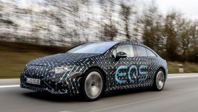 Photo of Anteprima della Mercedes EQS completamente elettrica, con 770 km di autonomia